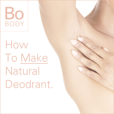 How To Make Natural Deodorant.