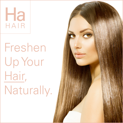 Freshen Up Your Hair, Naturally.
