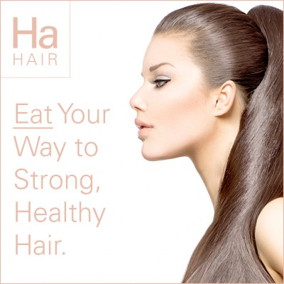 Eat Your Way To Strong, Healthy Hair.