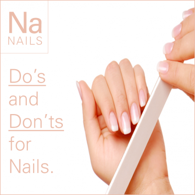 Do's and Don'ts for Stronger Nails.